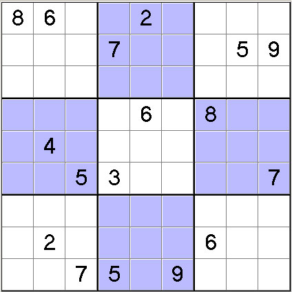 image regarding Hard Sudoku Puzzles Printable identified as 1000 Severe Sudoku - 1000 Really tough printable sudoku puzzles