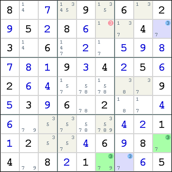 Color Trap , How to solve sudoku puzzles - Solving sudoku