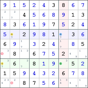 Skyscraper, How to solve sudoku puzzles - Solving sudoku strategy