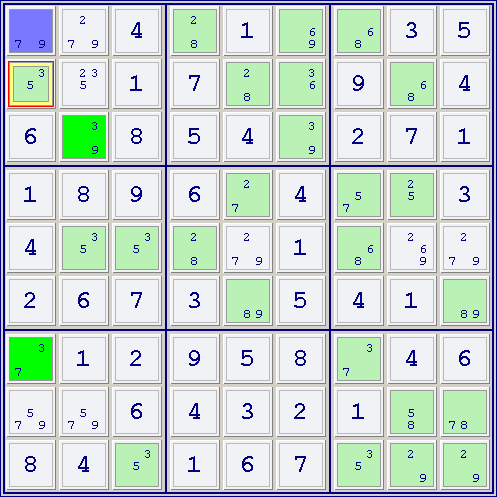 XY-Wing, How to solve sudoku puzzles - Solving sudoku strategy,picture ...